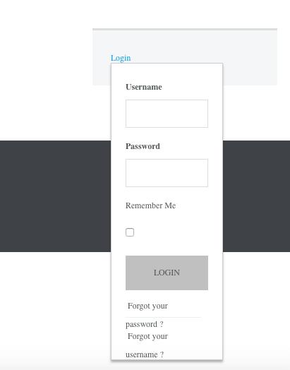 uber-screenshot-login-module
