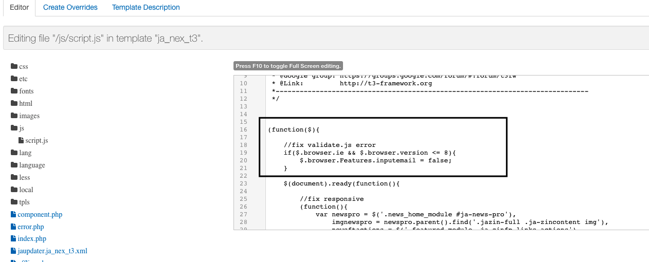JA Nex Uncaught ReferenceError: Browser is not defined