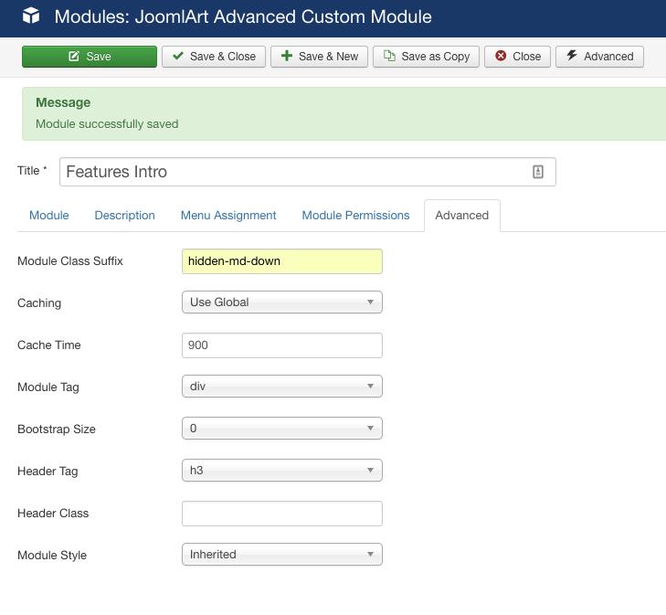 Module Class Suffix Not Working at All? - JoomlArt