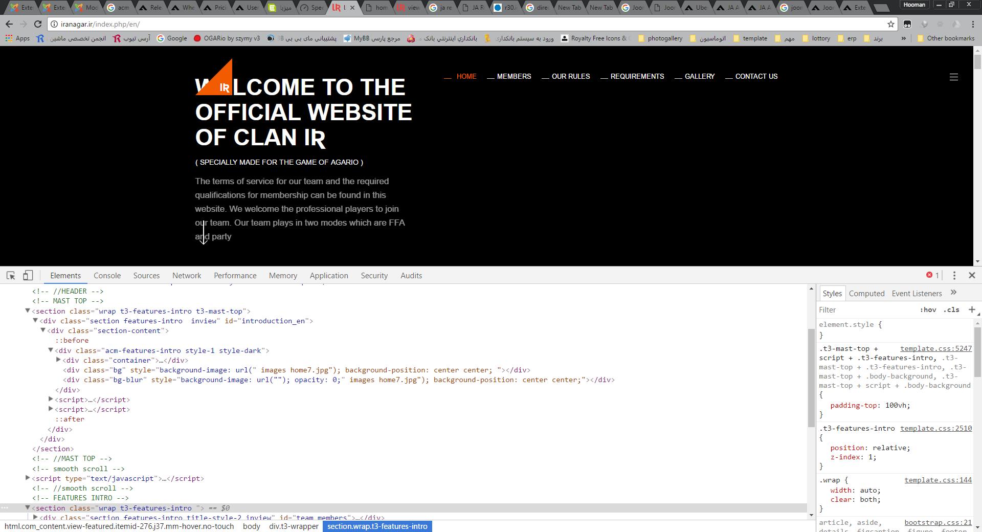 joomla advance custom module problem with joomla 3.7.2 - JoomlArt