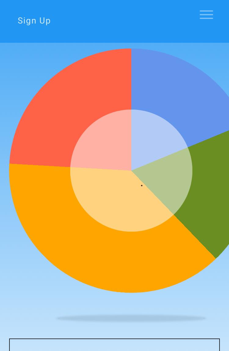 Statistics Style 7 Pie Chart Too Big On Iphone Joomlart