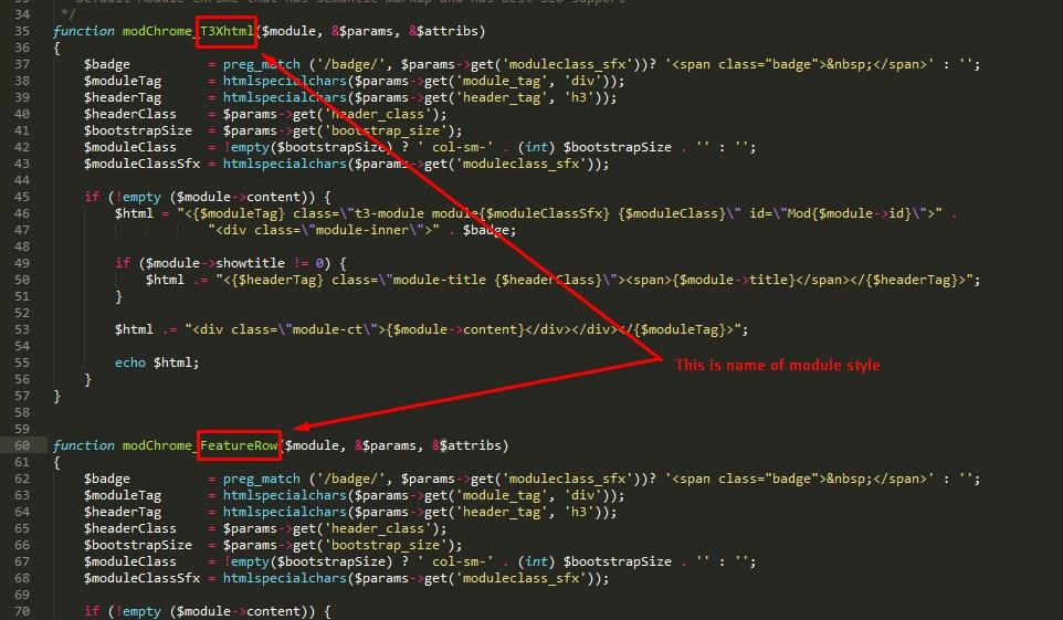 Module Styles, Custom CSS and - JoomlArt