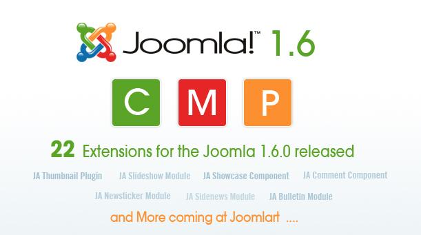 Joomla 1.6 Components - Modules - Plugins