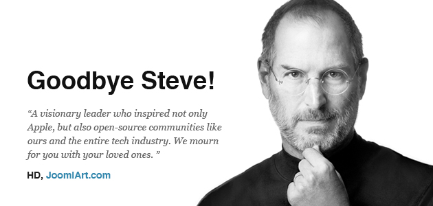 In Memory of Steve Jobs....