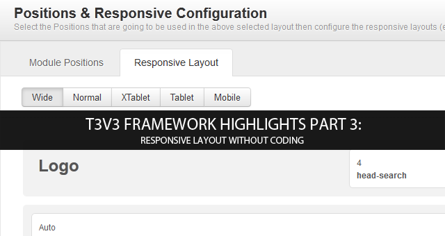 T3v3 Framework highlights part 3: Introducing Responsive Layouts (video)