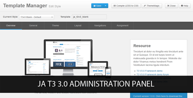 T3 3.0 Preview - The new version of T3 Framework