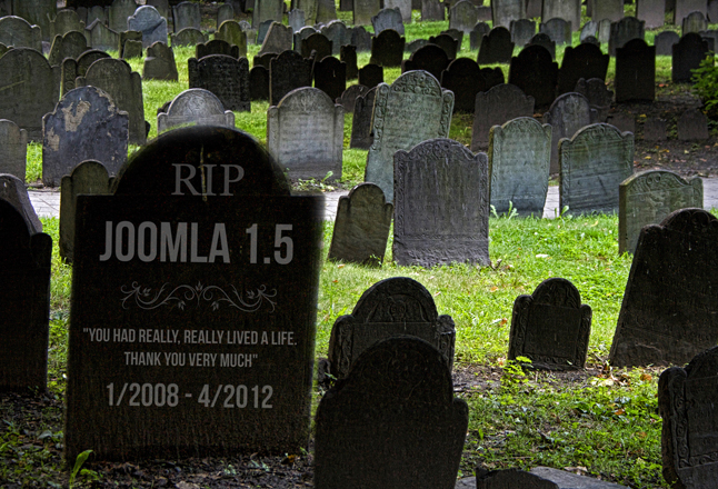 Joomla 1.5 end of life