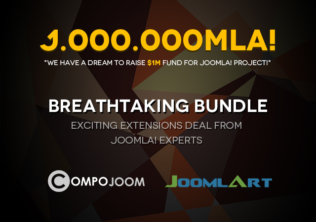 Save $200 in a bombdiggity bundle deal between CompoJoom and JoomlArt - Big time saving!