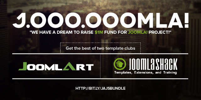 Get the best of two template clubs JoomlaShack & JoomlArt and Save over $600 in developer membership