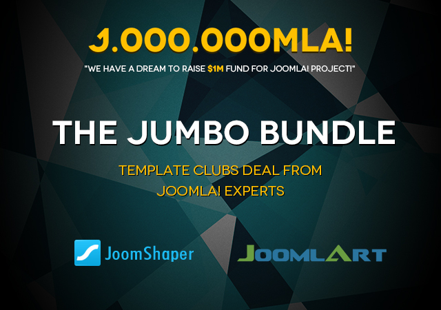 The Jumbo Bundle deal between JoomShaper and JoomlArt - save big time on Joomla templates