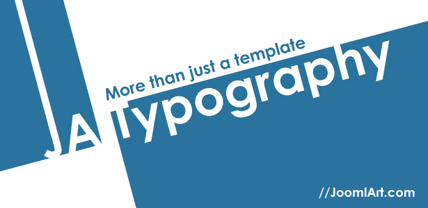 Web Typography Showcase: Joomla K2 component & JA Blog Explained