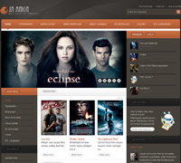 JA Anion - Joomla Movie Site Template