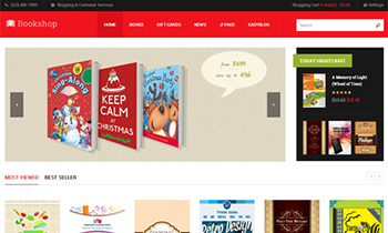 JA Bookshop - Responsive Joomla Template For Joomla 3 & 2.5