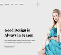JA Cagox - Responsive Joomla template for Fashion Store
