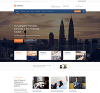 JA Company - Corporate and Business Joomla template