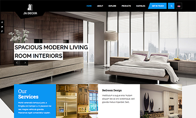 JA Decor - Responsive Joomla Template For Joomla 3 & 2.5