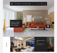 JA Elicyon - Responsive Joomla template for Interior Design shops