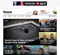 News and Magazine Joomla template - JA Focus