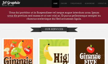 JA Graphite - Elegant Blog Template