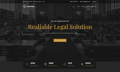JA Law Firm - Lawyer Joomla Template