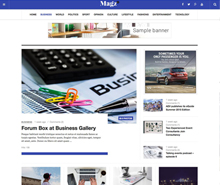 News and Magazine Joomla template JA Focus Joomla Templates and