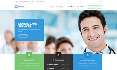 JA Medicare - Responsive Joomla Template For Joomla 3 & 2.5