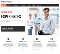 JA Mendozite - Joomla 3 & 2.5 business template