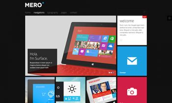 JA Mero - Responsive Joomla template for business