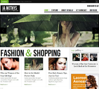 JA Methys - Fashion Magazine Joomla template