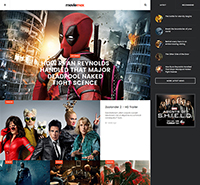 Responsive Movies Joomla template - JA Moviemax