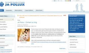 JA Pollux -  Content is King
