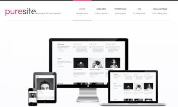 JA Puresite - Responsive Joomla Template 2.5 & 3