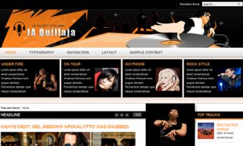 JA Quillaja - Professional touch to music site