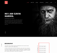Responsive Resume and Portfolio Joomla Template  - JA Resume
