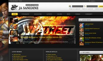 JA Sanidine - Joomla FireBoard & Community Builder - A perfect combination