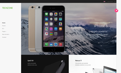 JA Techzone - Responsive Joomla template for Tech Store
