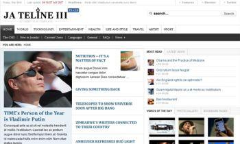 JA Teline III - Joomla News magazine Template