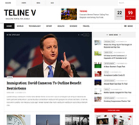 JA Teline V - Best Joomla News template