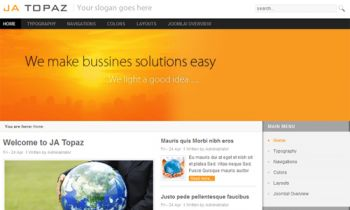 JA Topaz - Get your business site innovated