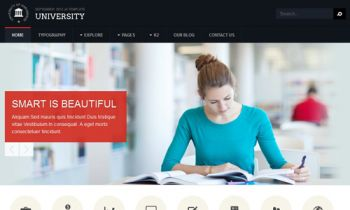 Joomla Template for College Websites