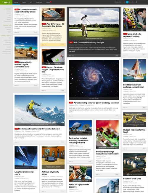 ja decor responsive joomla template ja wall responsive undesign template bundle for joomla 3