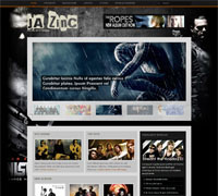 JA ZinC - World of Joomla Media template