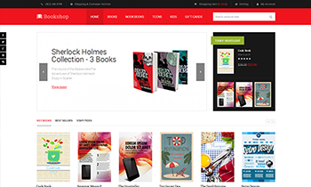 JM Bookshop - Responsive Magento theme for online bookstores