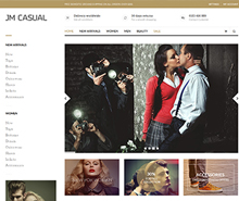 JM Casual - Responsive Magento fashion theme