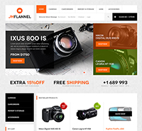 JM Flannel - Responsive Magento theme for your online digital store