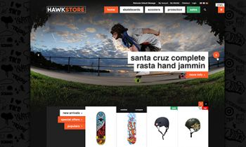 JM HawkStore � Magento theme for your skate shop and accessory store