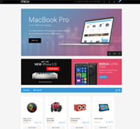 JM iTech - Responsive Magento theme for digital stores