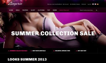 JM Lingerie - Responsive Magento theme for Lingerie Fashion store
