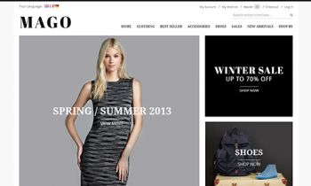 JM Mago - Responsive Magento theme for your high fashion and luxury store