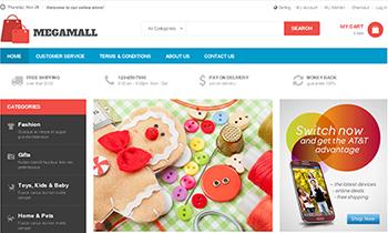 JM MegaMall - Responsive Magento theme for online supermarket